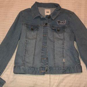 vans jean jacket